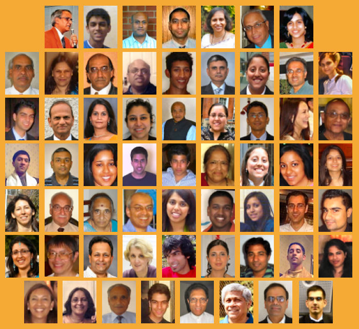 Pictures of the people behind the Hindu Academy
